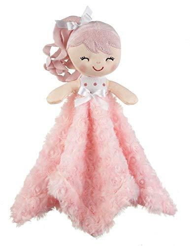 Ganz Baby Girl Baby Doll Mini Blankie Plush Cuddle Toy (Pink)