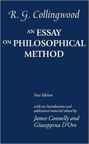 An essay on philosophical method pdf converter