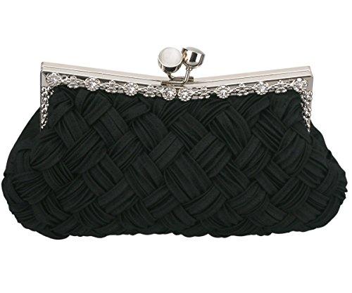 Classic Black Clutch Bag - 3
