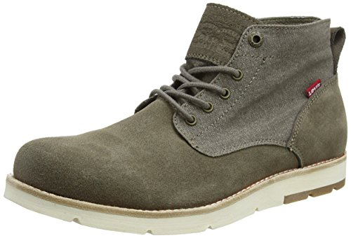 Levi's Jax Light Chukka, Stivali Desert Boots Uomo Grigio (Mouse Grey)