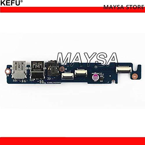 ShineBear Original Fit for HP 15-ax 15-ax033dx 15-AX250WM Series USB Audio Board DAG35TB2AB0 858975-001 Test Good - (Cable Length: USB Board)