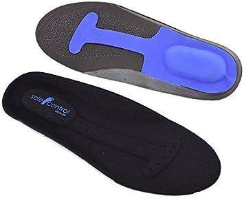 Sole Control Plantillas ortopédicas deportivas Airflow, fascitis plantar, periostitis tibial, dolor de rodilla (EU 39.5-47): Amazon.es: Zapatos y complementos