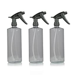 Chemical Guys ACC_121.16HD-3PK Chemical Resistant Heavy Duty Bottle and Sprayer (16 oz) (Pack of 3)