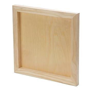 Amazon.com: Bulk Buy: Darice DIY Crafts Wood Wall Panel Unfinished ...
