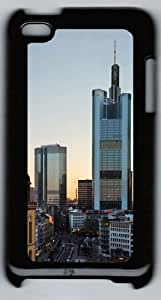 Frankfurt Skyscrapers Polycarbonate Hard Case Cover for iPod 4/ iPod 4th šCBlack