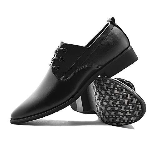 Oxford uomo Scarpa lavoro Marrone in 2018 unita Stringate Dimensione Nero da tinta 38 EU Xujw Color antiscivolo shoes da Scarpe Basse vaxX60