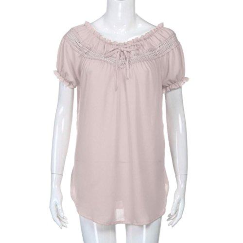 Dcontracte Top Mousseline d't Chemises en Beikoard Femme Sexy Blouses Yoga T Bohme de lgance Violet Shirt Sport Tops de Haut Soie Dames fEIcqwa