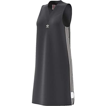 adidas Adibreak Kleid Damen, Carbon, 38: : Sport