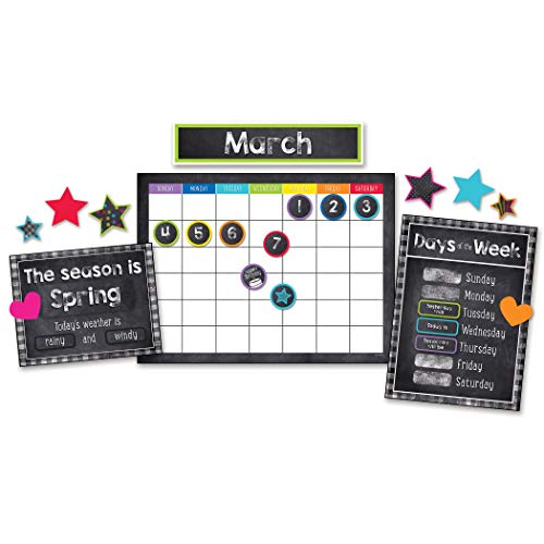 Twinkle Twinkle You're A Star! Calendar Bulletin Board Set]()