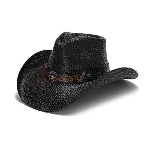 d0ad274eb Stampede Hats Men's Night Ranger Lone Star Cowboy Hat M Black