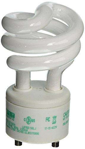 3T/GU24 60-Watt Equivalent GU24 CFL Bulb (Ecobulb Compact Fluorescent Bulb)