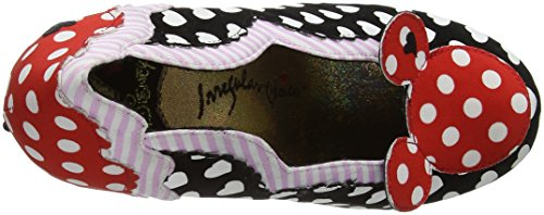 Irregular Choice Minnie Pumps Damen Schwarz Mouse SwgPqS