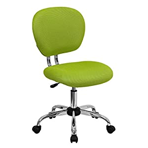 Baxley Mid Back Task Chair   Apple Green Mesh
