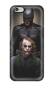 High Grade Lauruerrero Flexible Tpu Case For Iphone 6 Plus - The Dark Knight Movie Batman People Movie