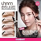Cathy Doll-Realbrow 4D Tattoo Tint#3 Dark brown, 1g by Angun Gift Shop