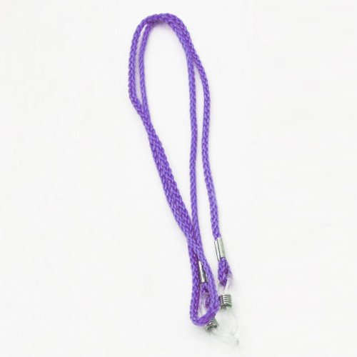 Sunglass Eyewear Braided Nylon Cord String Retainer Strap Lanyard Holder Purple