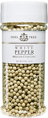India Tree White Pepper, 5 oz by India Tree