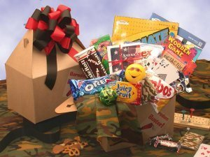 Military Care Package - Boredom Buster Care Package -Medium