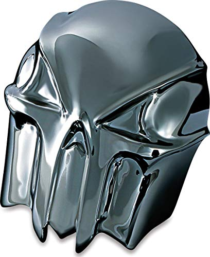 Kuryakyn 7741 Motorcycle Accent Accessory: Skull Horn Cover for 1992-2019 Harley-Davidson Motorcycles, Black - Cover Skull Horn Accessories