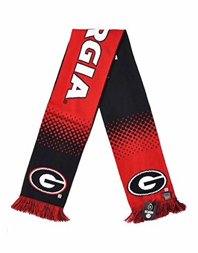 Official 2018 College Football Playoff Rose Bowl Georgia Knitted Scarf