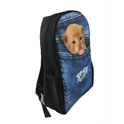 1 3 Moyen Fox Tiger Cartable Noir Chaqlin qxYgtRB