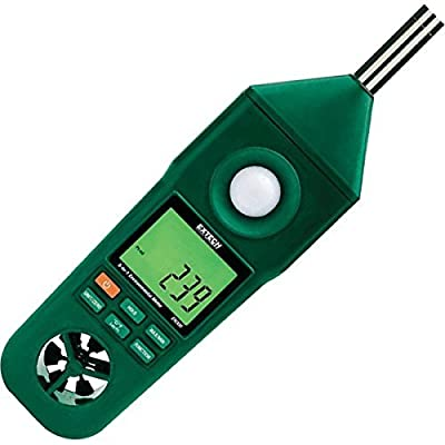 Extech Instruments EN300 Hygro-Thermo-Anemometer-Light-Sound Meter