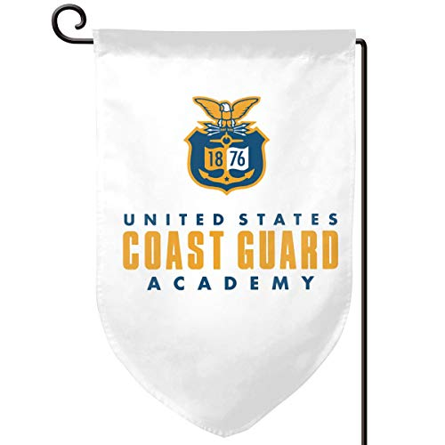 United States Coast Guard Academy Home Flag Outdoor Garden Flags Decorative 12.5x18 Inch Pattern Double-Sided Printing Banner ()