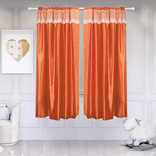 wuliLINL2019 Home Decor Novelty Fresh Curtains Drape Voile Panels Tulle Window Curtains Gauze Sheer for Bedroom Living Room
