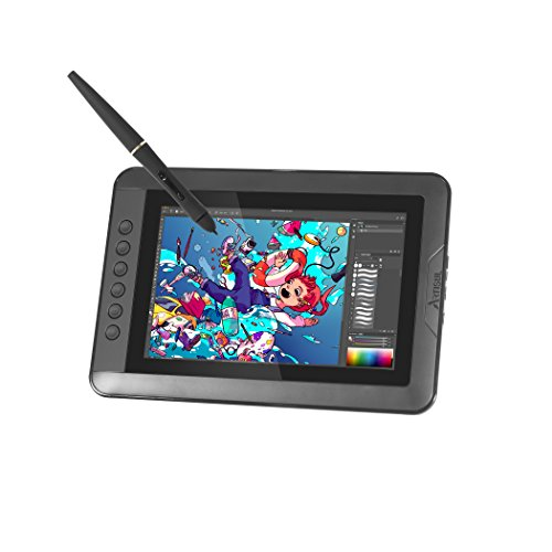 "Artisul D10 S - 10.1"" LCD Graphics Tablet with Display - HD Drawing Display Monitor 2048 Pressure Sensitivity Stylus 6 Hotkeys"
