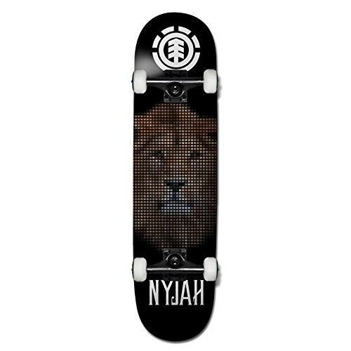 Element Nyjah Knockout Complete Skateboard, 7.75