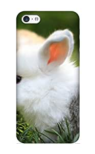 New Fashionable Honeyhoney ByNmjV-3403-ldNrV Cover Case Specially Made For ipod touch4(Cute Bunnies)