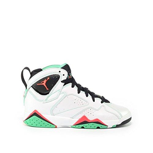 Nike Air Jordan 7 Retro 30 Gg Hi Top Scarpe Da Ginnastica 705417 Scarpe Da Ginnastica Bianche, Infrarossi 23-nero-verde