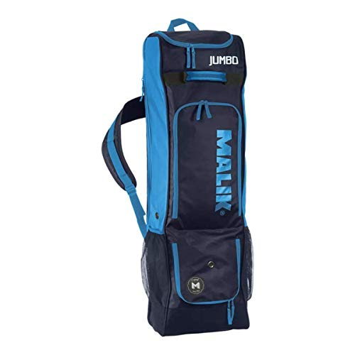 Malik Field Hockey Stick Jumbo Bag X-Design - Travel & Training (Blue)