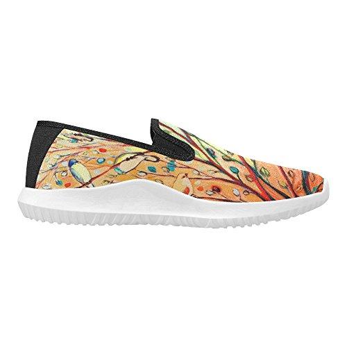 Mocassino Slip-on Donna Interestprint Sneakers In Tela Multi Moda 5