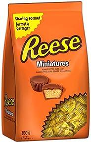 Reese Chocolate Candy Peanut Butter Cups, Miniatures, 900g Bulk Bag