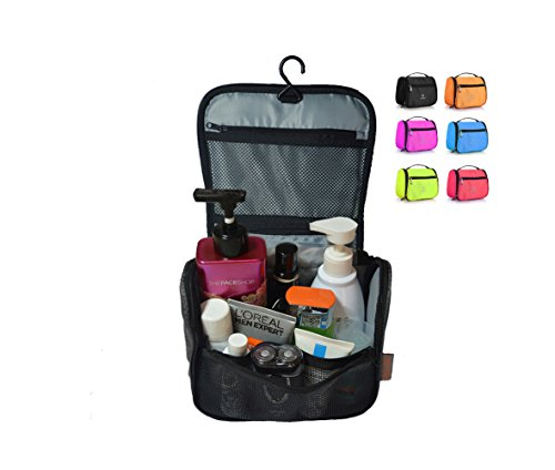 6146db138a69 We Analyzed 4,767 Reviews To Find THE BEST Toiletry Bag Orange