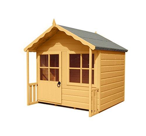 Shire 5x4 Kitty Wooden Playhouse with Veranda