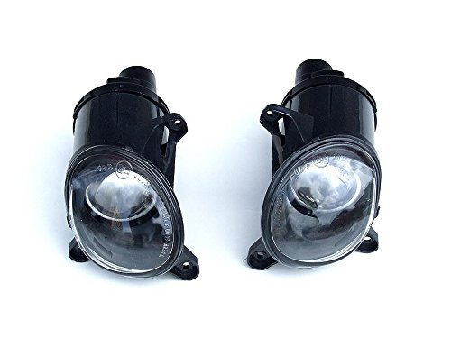05 Schwarz Nebelscheinwerfer Leuchten Licht Set f/ür VW Passat 3BG 3B3/3B6/B5/B5.5/00
