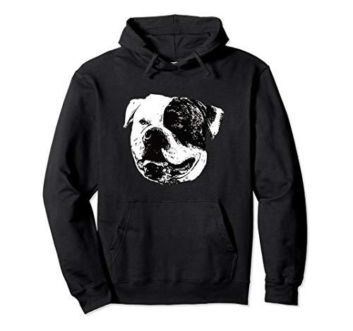 American Bulldog Hoodie - Bulldog Christmas Gift Apparel