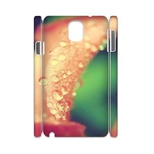 3D Okaycosama Funny Samsung Galaxy Note 3 Case Spring Plant 01 Cheap for Boys, Samsung Galaxy Note 3 Case for Men, [White]