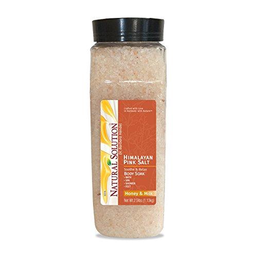 Himalayan pink Salt Soaking Solution, Soften & Nourish with