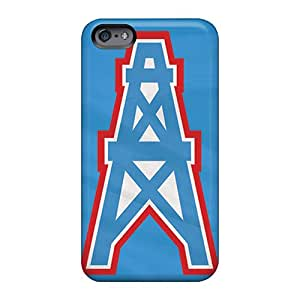 Shock Absorbent Cell-phone Hard Cover For Apple Iphone 6 With Provide Private Custom Colorful Houston Texans Image KimberleyBoyes