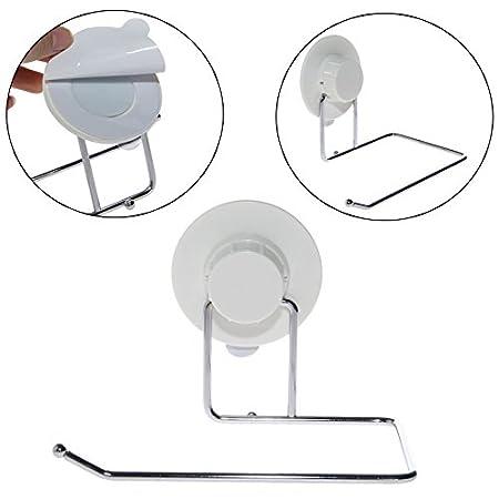 Papel higiénico soporte baño ventosa colgador tela toalla de cocina gancho   Amazon.com.mx  Hogar y Cocina c3daae69a356