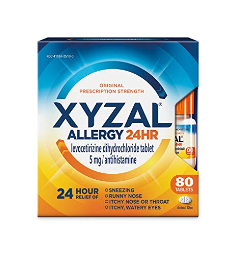 Xyzal Allergy Pills 24-Hour