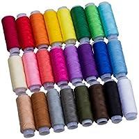 Couleurs assorties 100% coton pur coton filet de couture