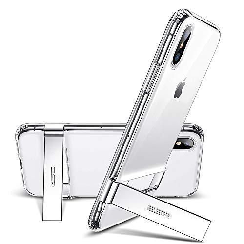 ESR-iPhone-X-Case-Metal-Kickstand-Case-Vertical-and-Horizontal-Stand-Reinforced-Drop-Protection-Hard-PC-Back-with-Flexible-TPU-Bumper-for-iPhone-X-2017