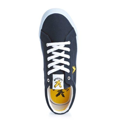 Lnss Halket Leather, Herren Sneakers Blau