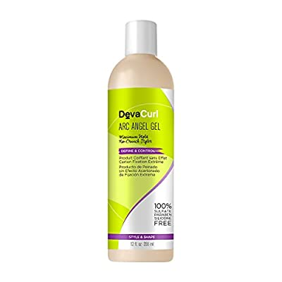 DevaCurl Arc Angel, Maximum Hold, Moisturize, Define and Control Styling Gel for Curly Hair