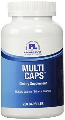 (Progressive Labs Multi Capsules, 250 Count by Progressive Labs)
