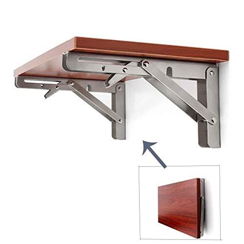 Mesas de comedor Casero Plegable Cocina computadora de Oficina Workbench Comedor Barra de Tabla del Escritorio Facil de Instalar (Size : 40cm×80cm)